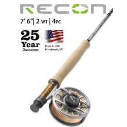 "RECON® 2-WEIGHT 7'6"" 4-PIECE FLY ROD"