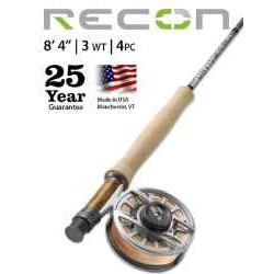 "RECON® 3-WEIGHT 8'4"" 4-PIECE FLY ROD"
