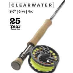 "ORVIS-Clearwater 6-weight 9'6"" Fly Rod"