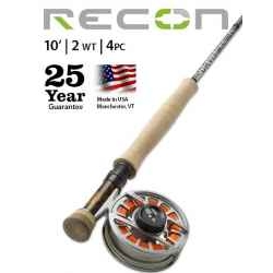 RECON® 2-WEIGHT 10' 4-PIECE FLY ROD