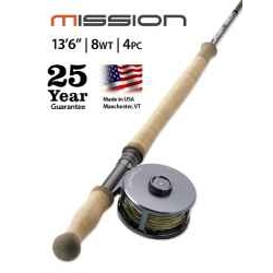 "MISSION TWO-HANDED, 8-WEIGHT 13' 6"" FLY ROD"