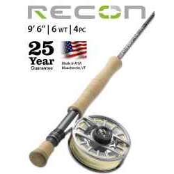 "RECON® 6-WEIGHT 9'6"" 4-PIECE FLY ROD"