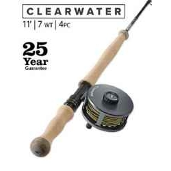 CLEARWATER® 7-WEIGHT 11' FLY ROD