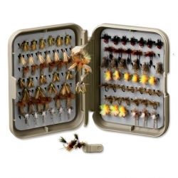 PosiGrip Threader Fly Box