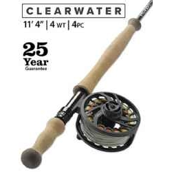 "CLEARWATER® 4-WEIGHT 11'4"" FLY ROD"